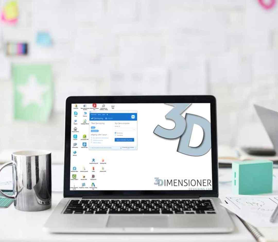 CAD Template Online opbygning 3dimensioner