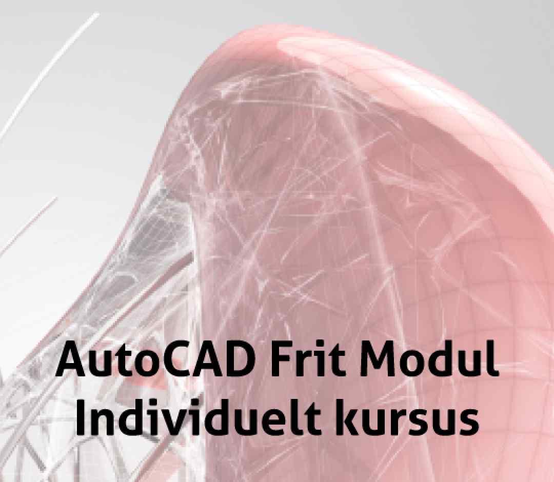 AutoCAD Firma Specifikt individuelt CAD kursus