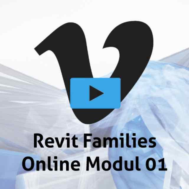 Revit Families Modul 01 online