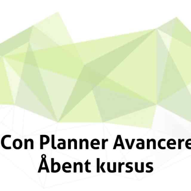 pCon Planner Lys og Materialer Åbent Kursus