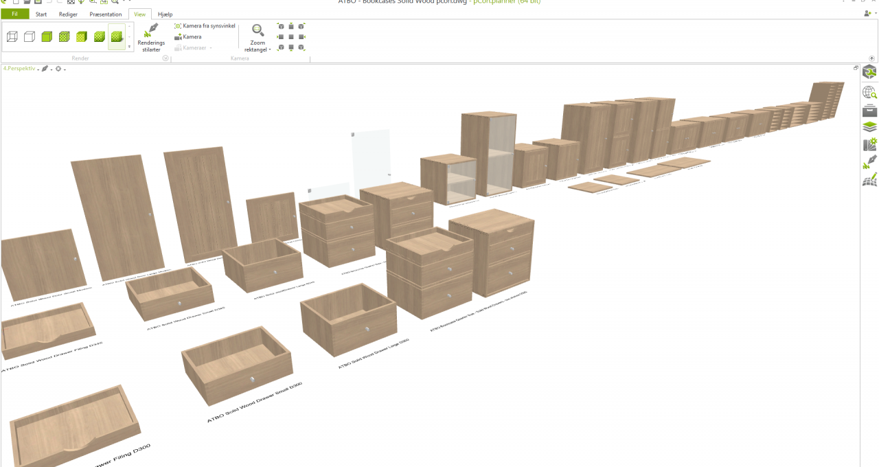 3dimensioner pcon planner 3D cad model for ATBO